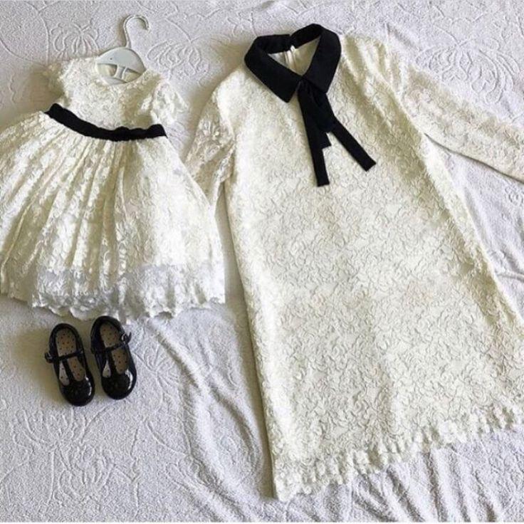 Платья в стиле family look, взрослое р.42/44, детское р.86/92 см, туфли лаковые Next, р.6. Все в идеальном состоянии. Цена 5 550 ₽✨