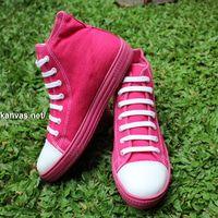 Sepatu Kanvas - Casual Warna Magenta Ciarmy Type SKC-02