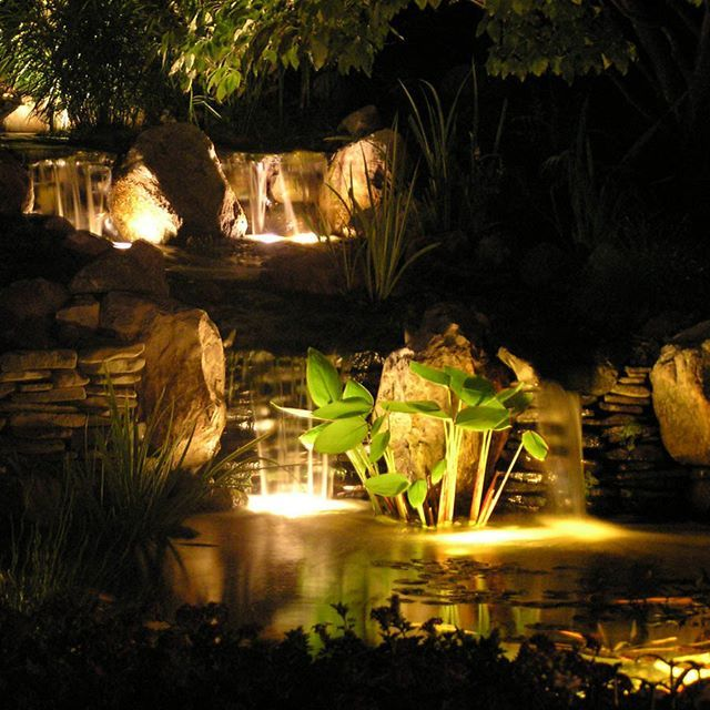 17 best images about evening by the pond on pinterest for Garden pond lights