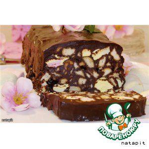 """Шоколадный """"террин"""" или быстрый десерт без выпечки"""