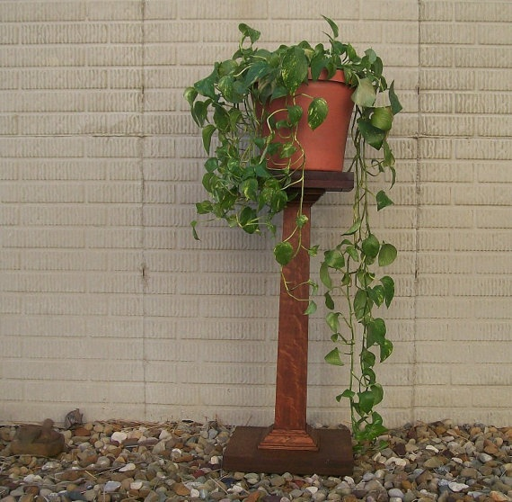Mission Stand Style Antique Plant