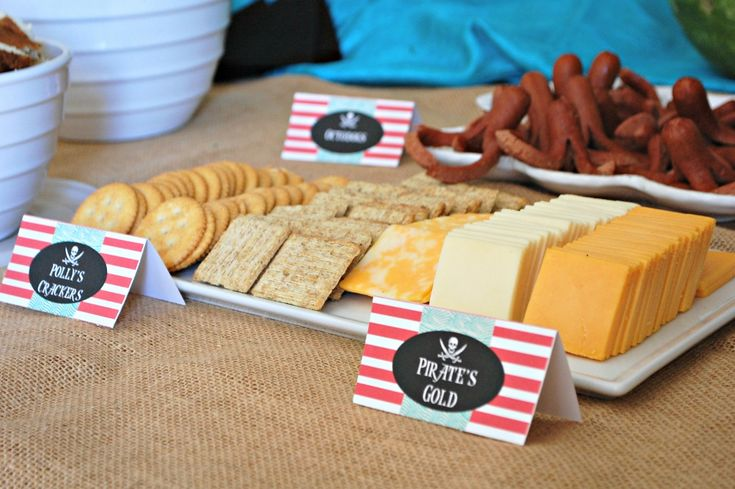 Pirate Party Food | missfrugalfancypants.com