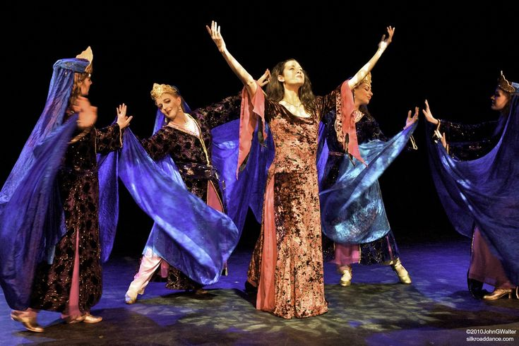 classic persian folk dresses  Silk Road dance company