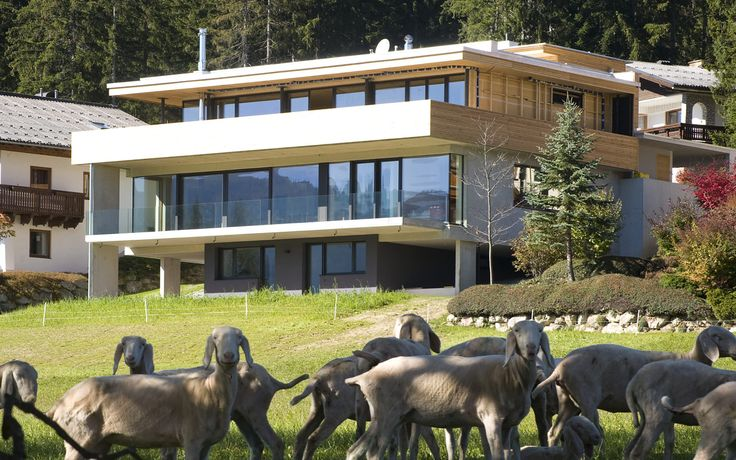 Dom w Rosenheim, Niemcy. Produkty: SGG CLIMATOP LUX. #glass #architecture #glass_for_home