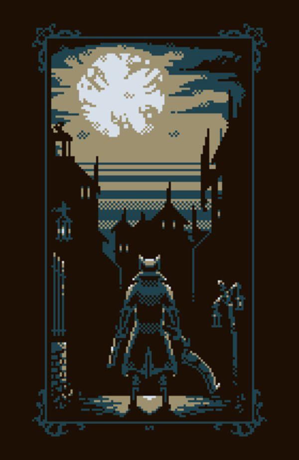 Limited | Bloodborne | Bloodborne Art, Pixel Art, Pixel