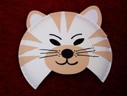 Culture Club Kids Paper Plate Mask Craft
