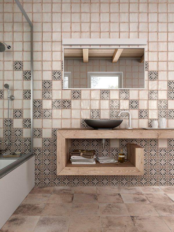 3 Badezimmer Keramik Universale Fliesen Matte Oberfläche Nicht