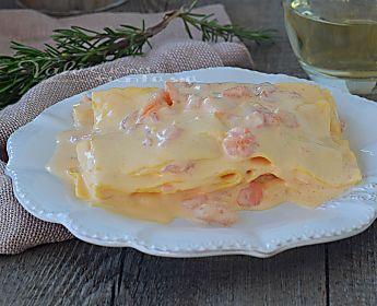 Lasagne con crema al salmone ricetta primo piatto
