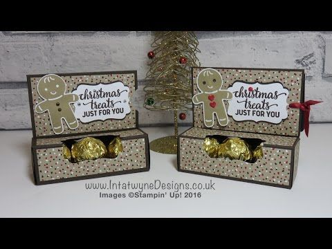 Crafty Christmas Countdown #4 - Gift Card Holder with Ferrero Rocher Chocolates - YouTube