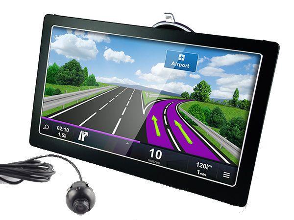 7 Inch Touchscreen Car GPS Navi Tablet Parking Kit – BT, FM, HD Reverse Camera