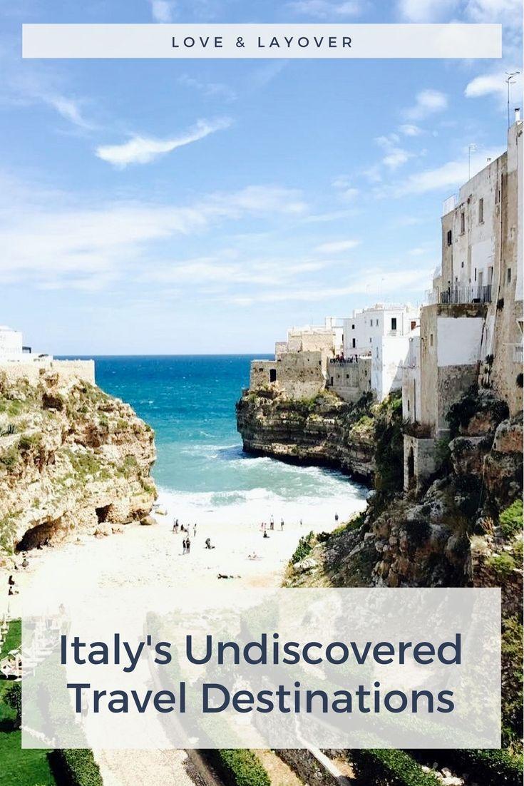 Italy's Undiscovered Travel Spots #travel #italia #travelitaly #puglia #sicily #tuscany #termedisaturnia #poglinanoamare #salento #favignana #termedisaturnia #tropea #calabria #southernitaly