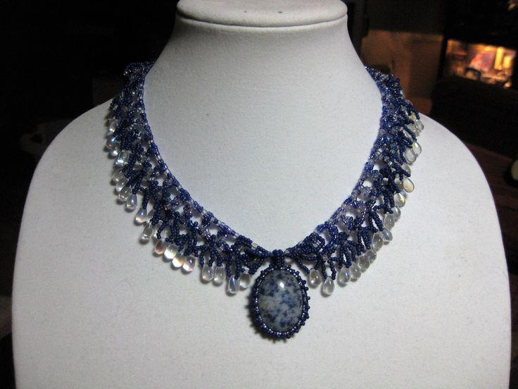 CatFish bead creation. Stones provide great tactile feel.