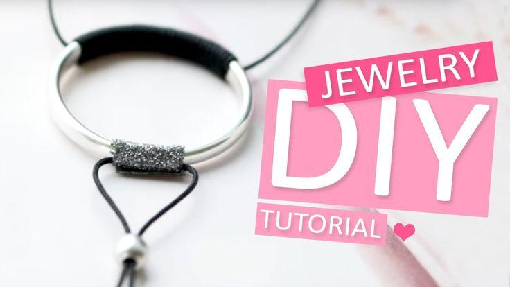DIY TUTORIAL: Hippe ketting met ring van DQ metaal - Zelf sieraden maken