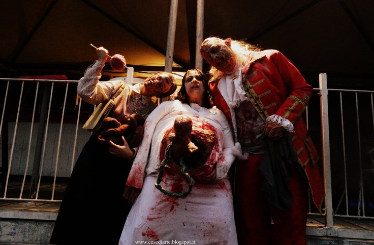 Great #zombie group at Torino Zombie Walk