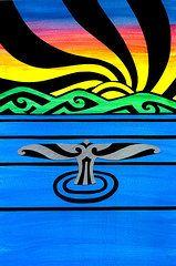 Koru Art - Whale Horizon by Roseanne Jones