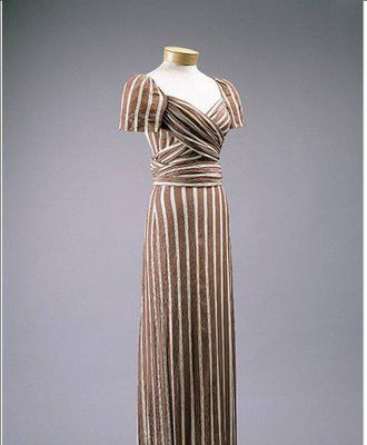 1930s #1930s #gown #dress #Claire #McCardell