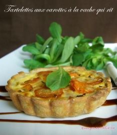 Tartelettes carotte/Vache qui Rit : incroyablement bon !!