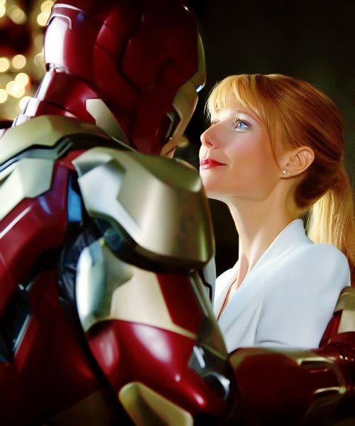 ironman and pepper potts relationship