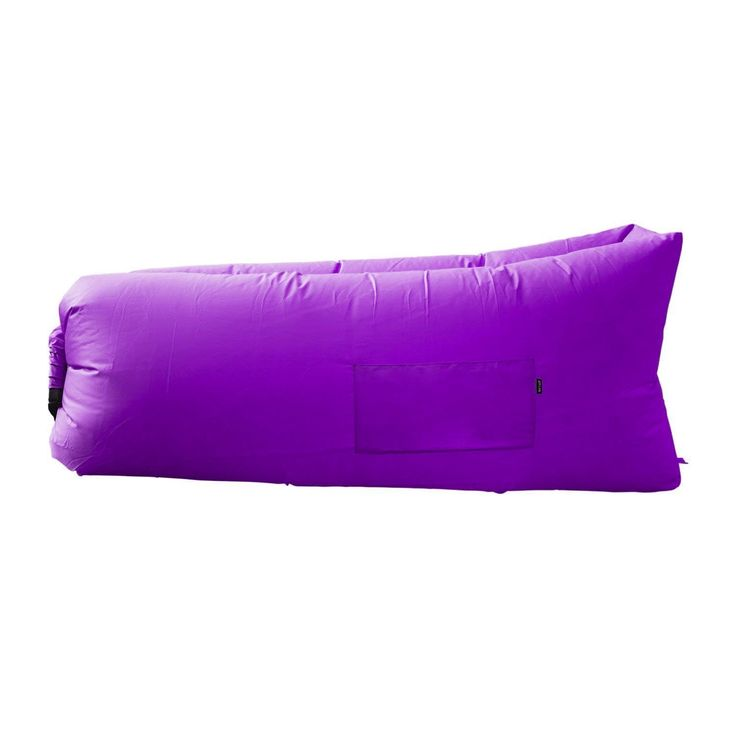 Air Lounger parachute material made with heavy duty waterproof blow up couch / sofa suitable for up to 2 person kids and adults camping – hiking – outdoor – pool –even floats on water (PURPLE) ** Additional details at the pin image, click it  : Air Lounges