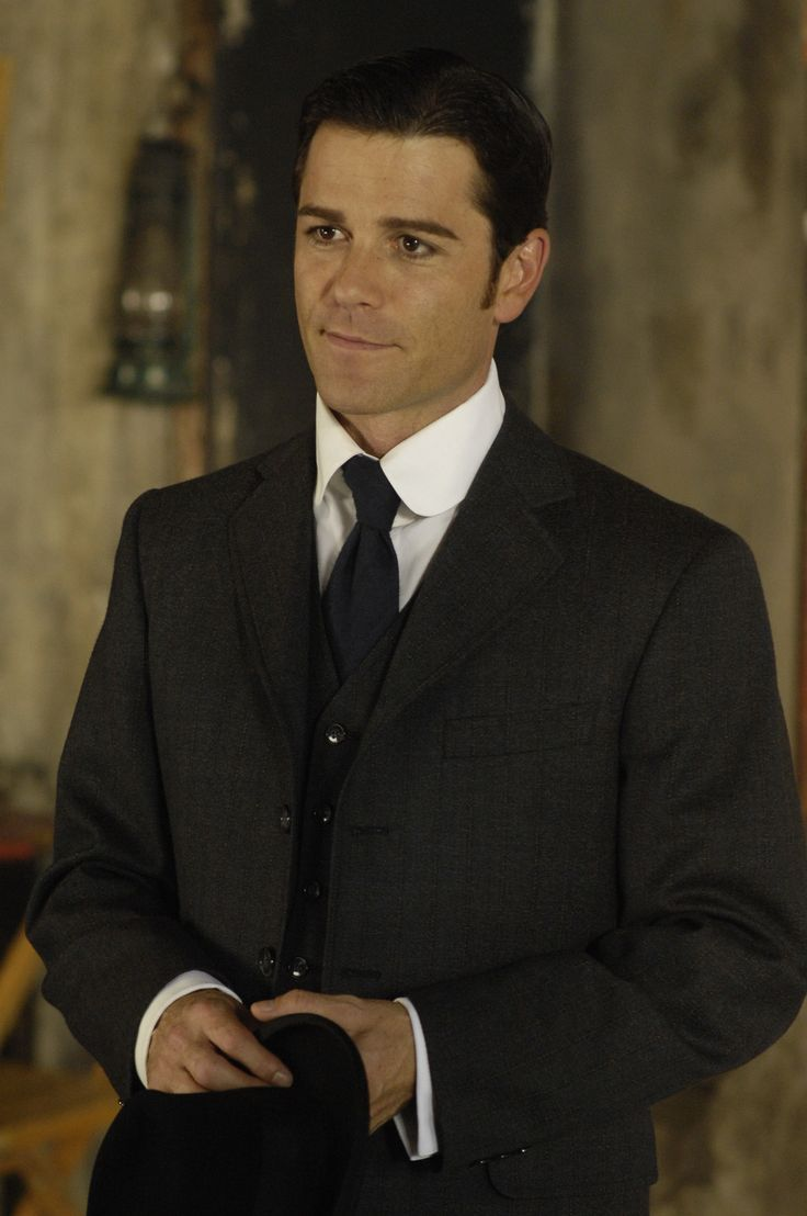 "Yannick Bisson. (who is known for playing Detective William Murdoch in ""Murdoch Mysteries"" and F.B.I agent Jack Hudson in ""Sue Thomas F.B.Eye"".)"