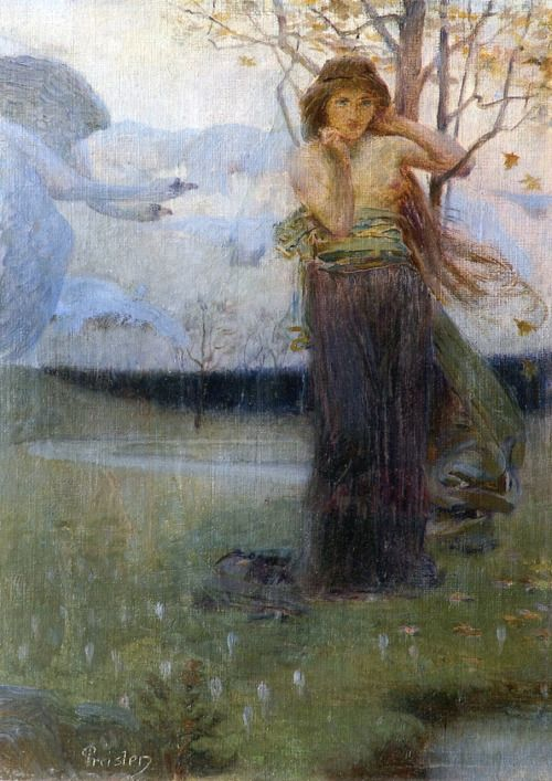 Autumn - Jan Preisler  1897