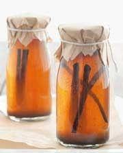 Tuisgemaakte vanielje-ekstrak