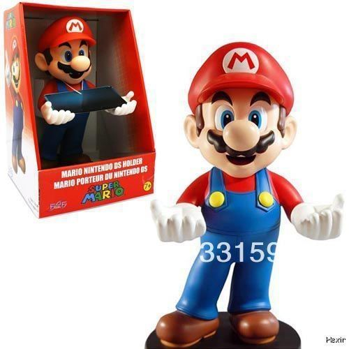 "32.05$  Watch now  - ""Hot Sale Super Mario Brothers Nintendo 3DS DSi DS Lite Holder 12"""" Action Figure New F4F For Christmas Gifts Free Shipping"""