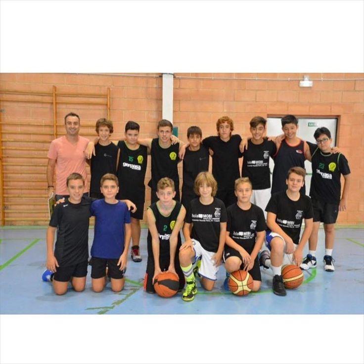 Por quinto año consecutivo alquiler de plataformas elevadoras Gerpasa patrocina el equipo de Basket en Canals (Valencia)