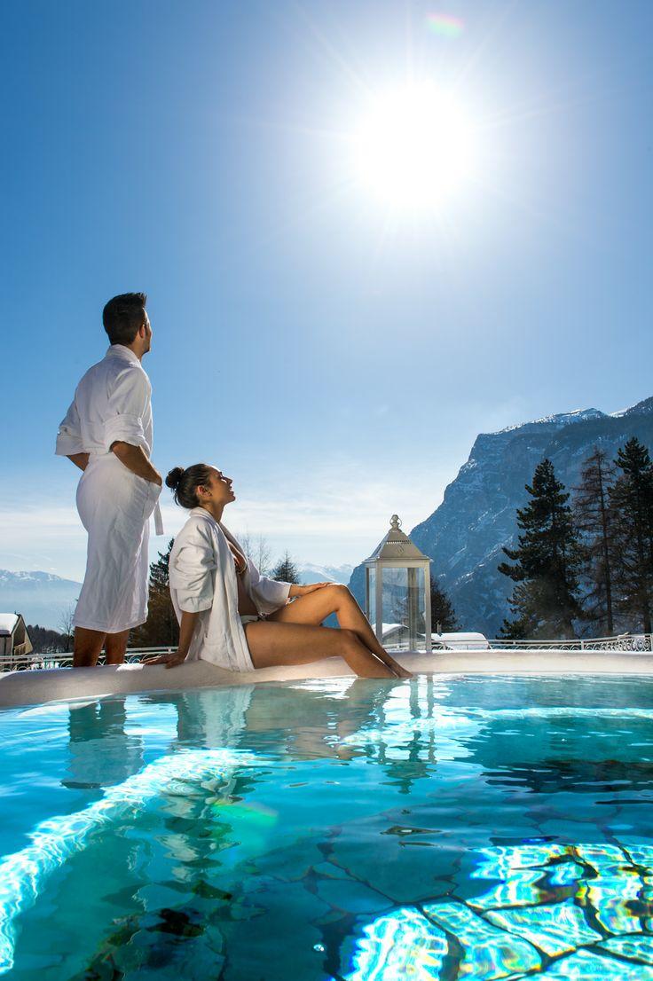 Der fabelhafte #pool zum #relaxen. Mehr Informationen auf http://www.selectedhotels.com/de/hotel/alp-wellness-sport-hotel-panorama
