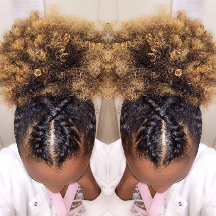 Two Cornrow Boxer Braids – Braids – #braided hai…