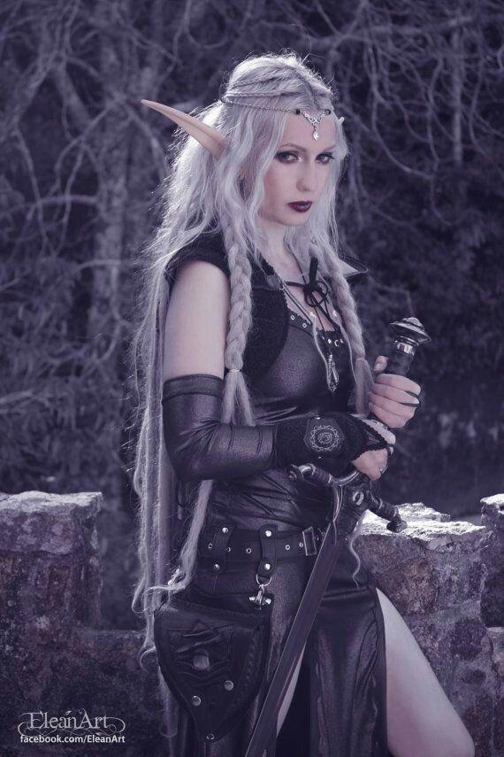 Skyrim dark elf cosplay