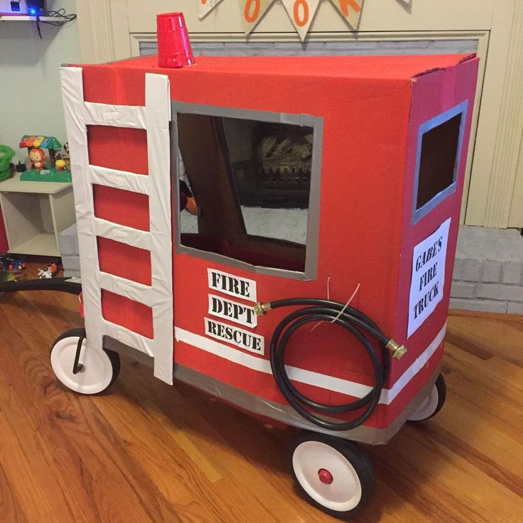 Wagon Fire Truck