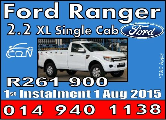 Ford Ranger 2.2 Single Cab Special