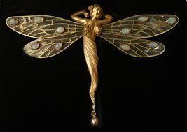 Výsledek obrázku pro art deco dragonfly