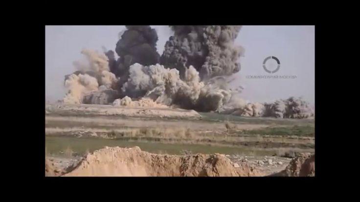Американские военные скинули шесть фугасных бомб GBU 32 JDAM