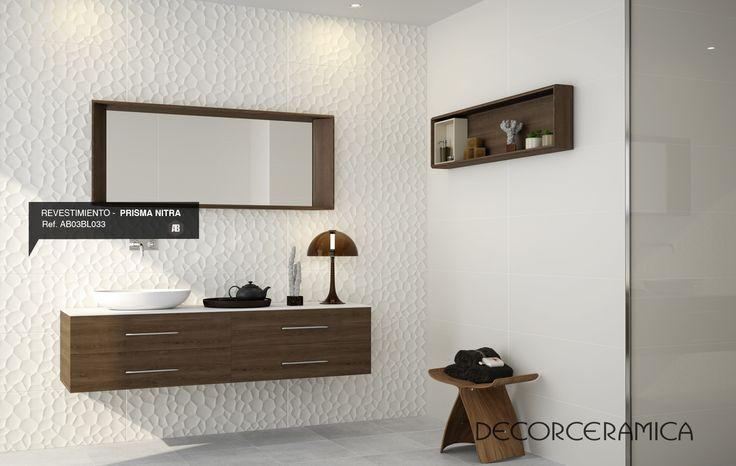 Destaca tus #paredes con un enchape #estilo relieve, que solo #Decorceramica trae para ti.  http://on.fb.me/1f6ccVA