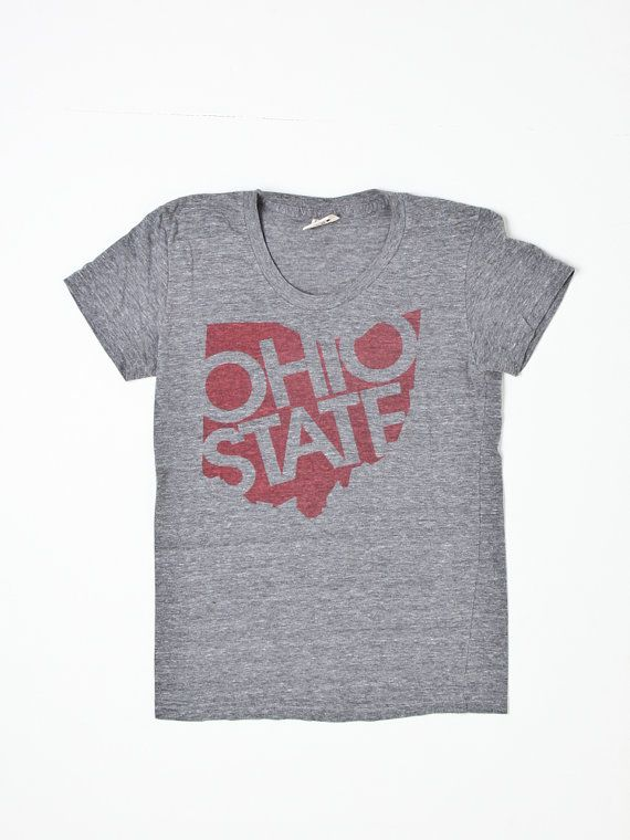 Vintage Ohio State t shirt by Flyinganyc on Etsy, $35.00