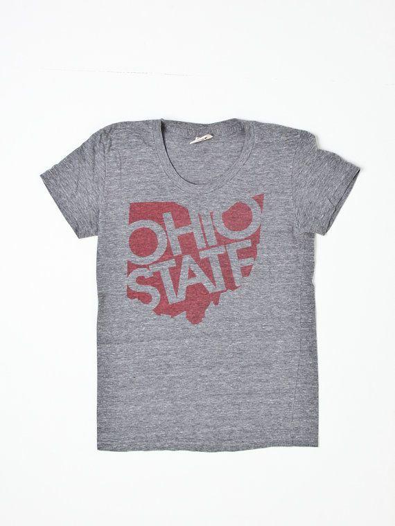 Vintage Ohio State t shirt by Flyinganyc on Etsy, $35.00