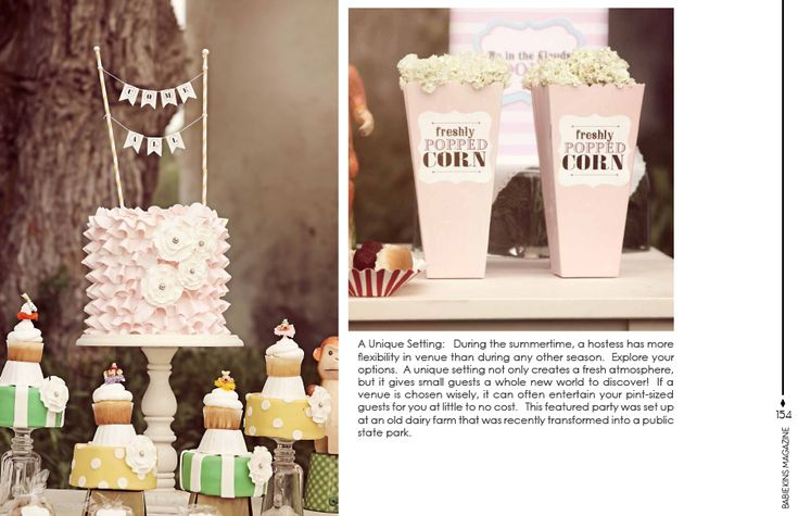 Cute Popcorns boxes    Babiekins Magazine - Issue 9