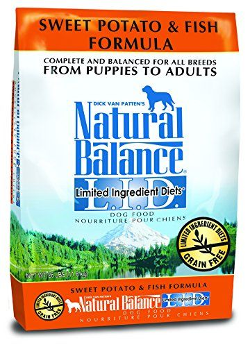 Dick Van Patten's Natural Balance Limited Ingredient Diets Sweet Potato and Fish Formula Dry Dog Food, 26-Pound Bag. DogsHelper.com - DogsHelper-Store - Click and read these content rich dog care articles.