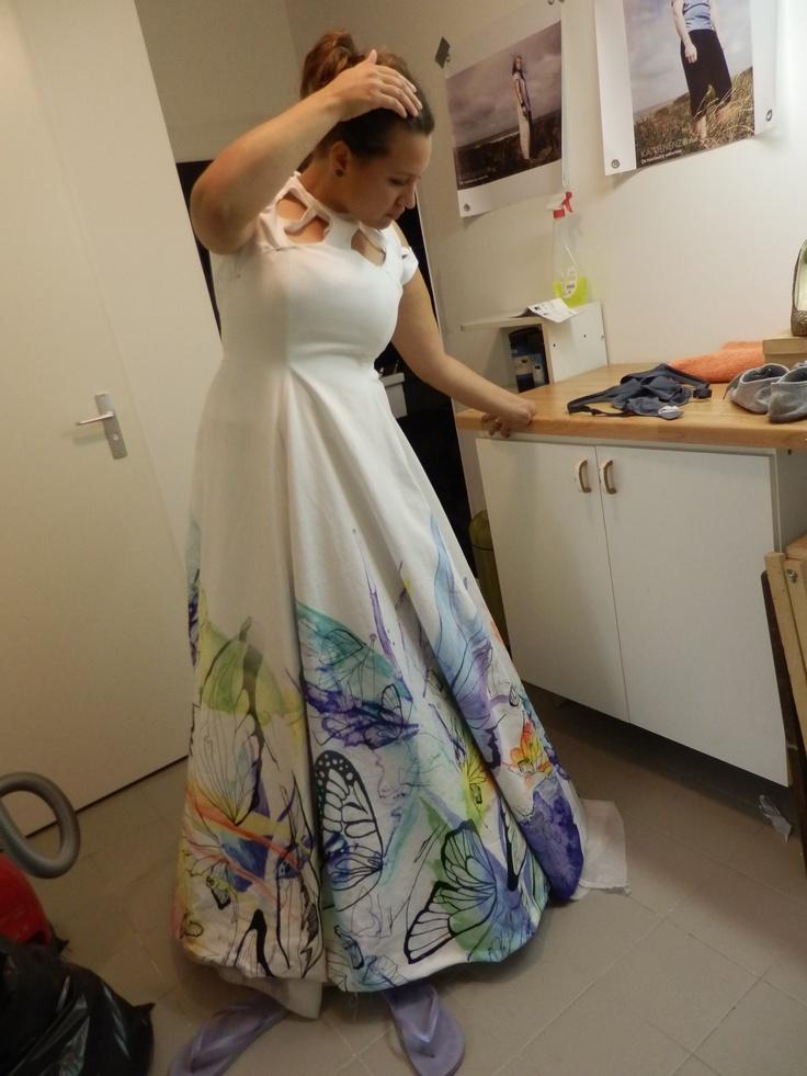 Making my wedding dress