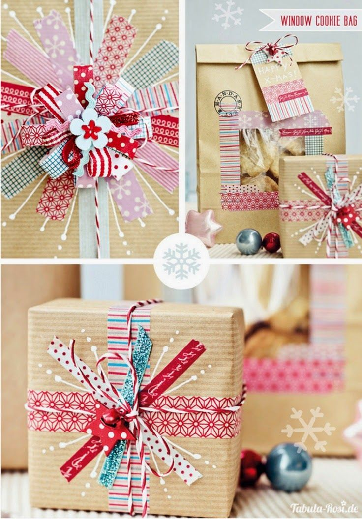 20 Beautiful Washi Tape Christmas Craft Ideas