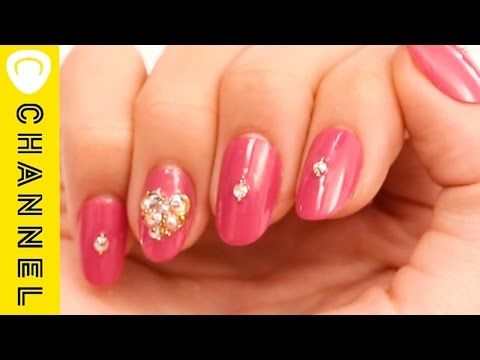 バレンタイン♡ハートネイル │ Valentine's Day Heart Nail Art Tutorial - YouTube