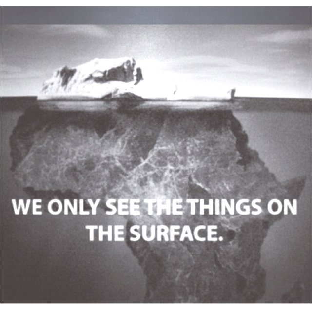 trust there is a bigger picture than what you can see with your eyes.