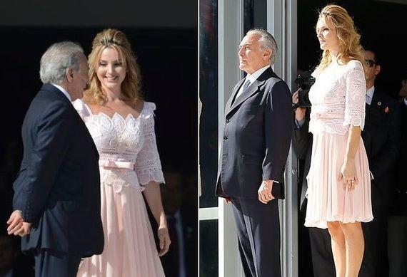 Marcela Temer, esposa de Michel Temer, ganhou os holofotes durante a posse da…