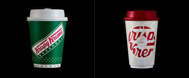 New Coffee Cup for Krispy Kreme by Device