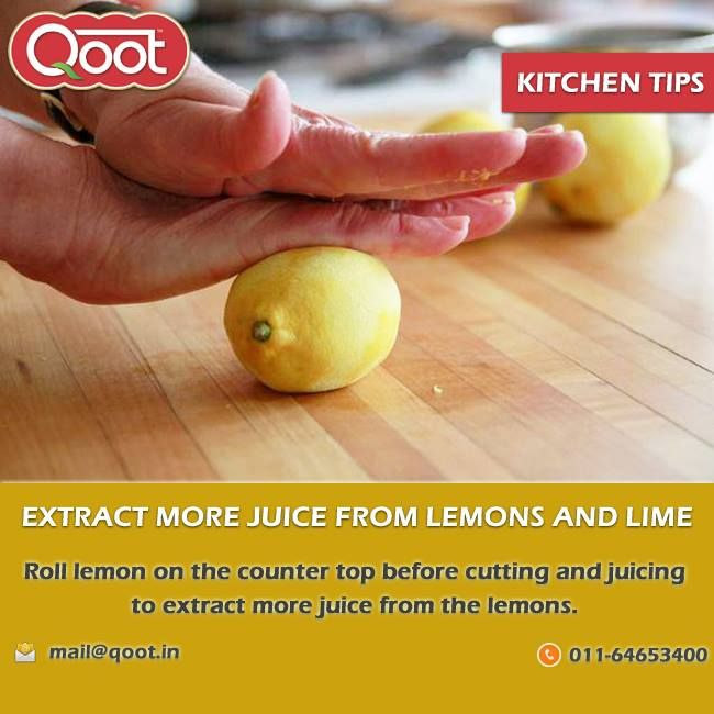 Kitchen Tip http://www.qoot.in/ #Lemon , #Ketchup, #sauces, #khakhra, #India , #tomatoketchup, #QootMasti
