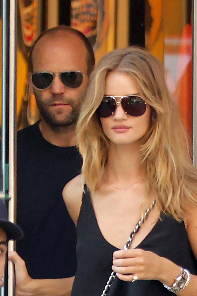 Jason Statham Photos - Jason Statham and Rosie Huntington-Whiteley in New York - Zimbio