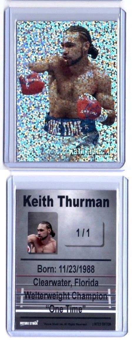 Boxing Cards 37795: Keith Thurman Boxing Rookie Card - Refractor - Rare Limited Serial 1 1 -> BUY IT NOW ONLY: $30 on eBay!