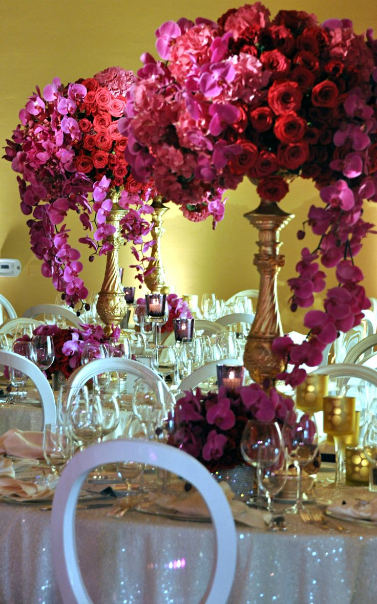 Tablescape ● Lush Floral Centerpiece